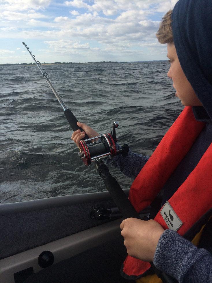 Pirkefiskeri efter torsk