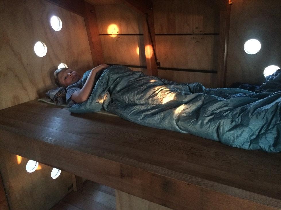 Soveskur på Birkholm